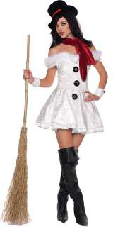 Sexy Snowed In Snow Girl Christmas Costume   Sexy Costumes