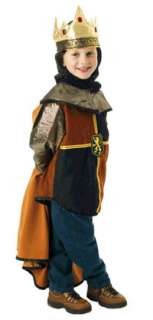 Kids Medieval Knight Costume in Black and Tan   Medieval Costumes