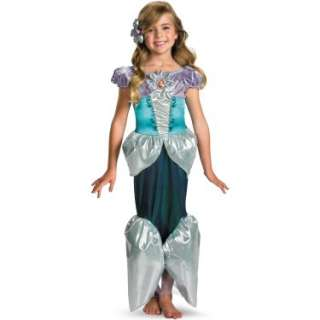 Costumes Disney Princess   Ariel Lame Deluxe Toddler / Child Costume