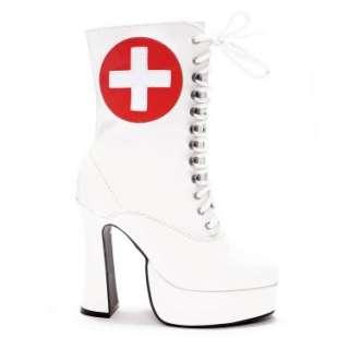 Halloween Costumes Nurse (White) Adult Boots