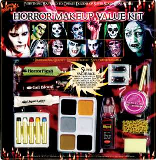 Family Horror Makeup Kit (Makeup & Tattoos)