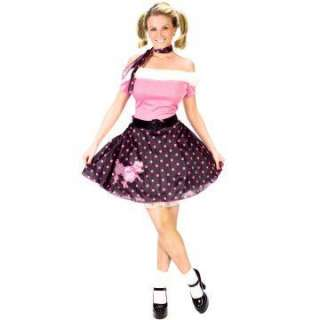 50s Poodle Dress Adult Costume   Includes 50s Style Poodle Dress