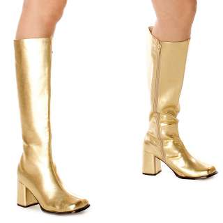 Gold Gogo Boots Adult     1633605