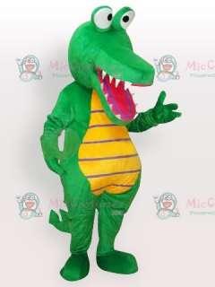 Cartoon Crocodile Adult Mascot Costume  Cartoon Crocodile Adult