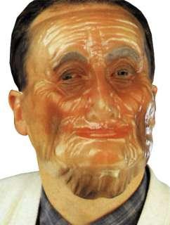 Plastic Old Man Transparent Mask   Elderly Character Masks   15TF10733