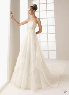 Coimbra Strapless Bridal Wedding Dress+Free Gift