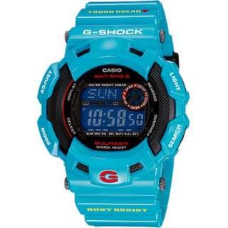 Casio G Shock Men in Earth Blue GW 9100BL 2JF
