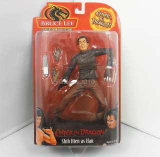 Bruce Lee Enter the Dragon Action Figure Han 7 inch