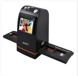1800dpi 5 Mega Pixel Film/Slide Scanner Easy one button scanning 2.4