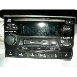 ALTIMA 98 99 receiver, AM FM stereo cassette CD w/6 speakers, ID CN548