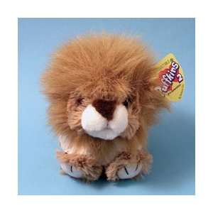 Puffkins 2 Dillion Lion Stuffed Plush Animal Toys & Games