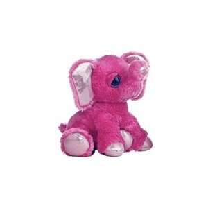 Pink Plush Elephant Dreamy Eyes Stuffed Animal by Aurora Toys & Games