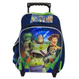 Buzz , Woody 12 Rolling Kids Toddler Wheeled Backpack Toys & Games