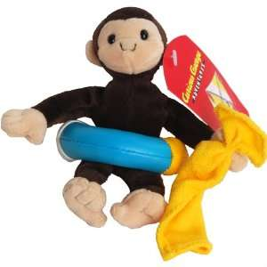 with Tube   Curious George Monkey Bean Bag Plush Toy