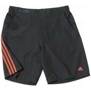 adidas Mens ClimaCool F50 Shorts Black/Energy/Small