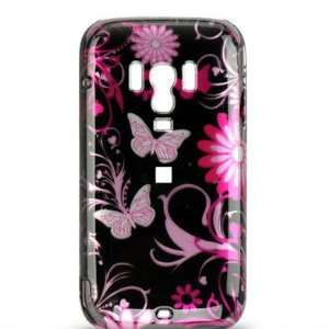 FLOWER HARD CASE COVER FOR VERIZON/TELUS HTC TOUCH PRO 2 Electronics