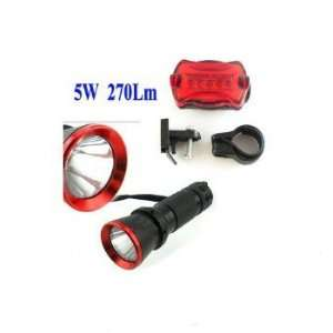 NowAdvisor® 5w LED Bike Bicycle Rear Front Head Light