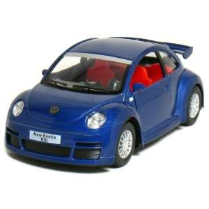 5 Volkswagen New Beetle RSi 132 Scale (Blue) Toys