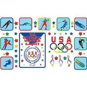 Resources Olympic Winter Games Bulletin Board (1795) Office Products