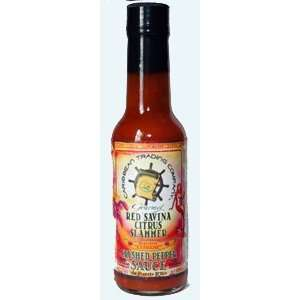 Red Savina Citrus Slammer Crushed Pepper: Grocery & Gourmet Food