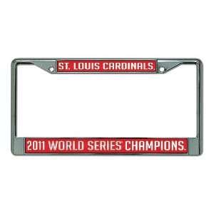 MLB Milwaukee Brewers National League Champions Chrome Frame