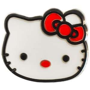Hello Kitty face w/ bow croc charm   red Arts, Crafts & Sewing