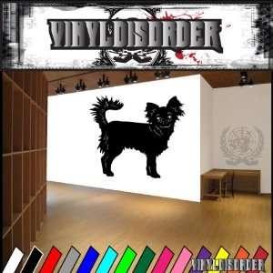 Dogs Companion chihuahua 2 Vinyl Decal Wall Art Sticker