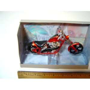 Jesse James West Coast Chopper Motorcycle El Diablo   Rigid   Flame