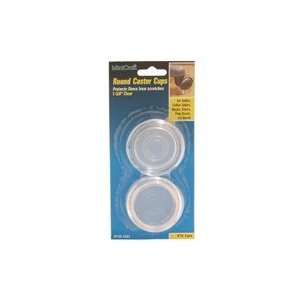 Plastic Round Cups, 1 5/8 Id Clear