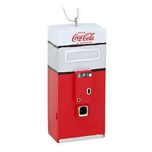 Coca Cola Red Vending Machine Ornament