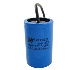75uF AC 450V 30uF Cylinder Motor Start Capacitor: Home Improvement