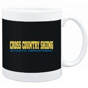 Mug Black Cross Country Skiing ATHLETIC DEPARTMENT