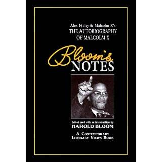 Blooms Notes) by Alex Haley, Malcolm X and Harold Bloom (Oct 1995