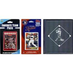 MLB Detroit Tigers Licensed 2010 Topps Team Set and Favorite Player