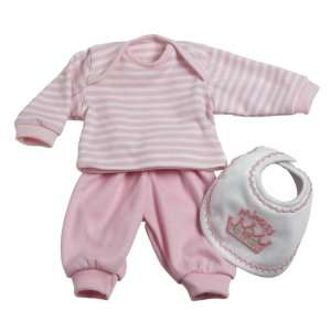 Adora Baby Doll Accessories 3 Pc. Play Set   Pink Toys