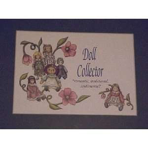 Doll Collector Matted Print with Raggedy Ann Toys & Games