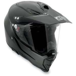 AGV AX 8 Dual Sport EVO Helmet, Black, Size Lg, Primary Color Black