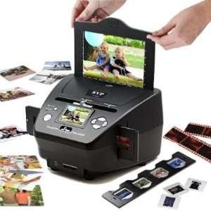 in 1 Digital Photo / Negative Films / Slides Scanner with built in 2