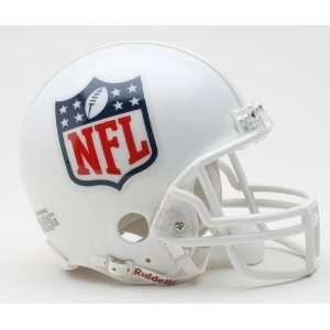 NFL Shield Logo Riddell Mini Football Helmet  Sports