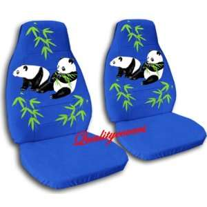 blue Panda bear car seat covers, for a 2004 Ford Focus Automotive