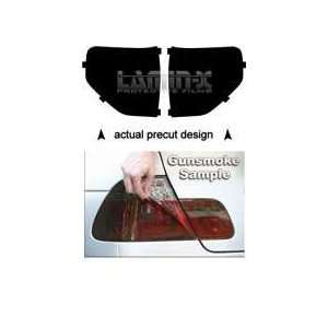 Ford F 150 (09  ) Tail Light Vinyl Film Covers ( GUN SMOKED ) by Lamin