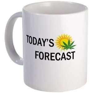 Weather Report Humor Mug by