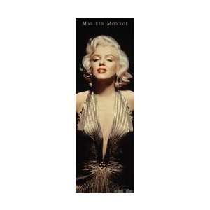 Marilyn Monroe   Gold Dress   61.6x20.7 inches