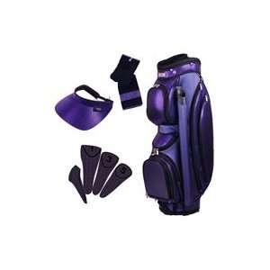 Glove It Ladies 4 Piece Golf Cart Bag Combos   Purple