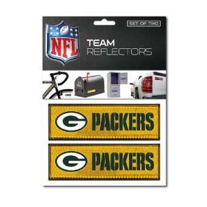 NFL Green Bay Packers Stickers Set of 2