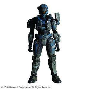 Halo Reach Play Arts Carter Action Figure Toys & Games