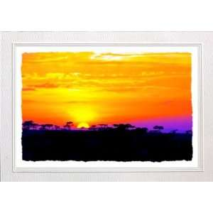 African Sunrise Greeting Cards Gift Box Health