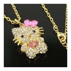 Miss Peggy Jos   Hello Kitty Necklace  16 18 Inch Chain