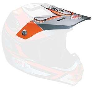 Bell Replacement Visor for SC X Helmet     /Python Orange