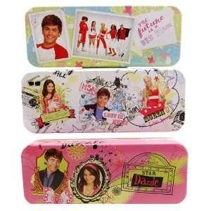 High School Musical Tin Pencil case bag 00869 (Set of 3